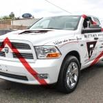 Dodge RAM blanc Front_Piste 02